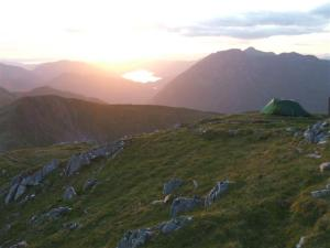 Wild camp on Sgurr an Lochain