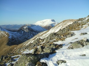 Looking towards Ben Nevis