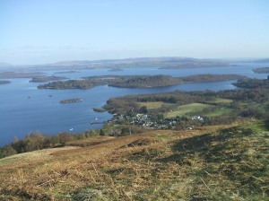 Luss and Loch Lomond