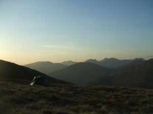 Overlooking Arrochar