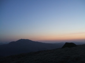 Sunrise over Ben Lomond